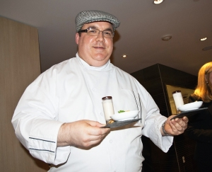 Chef Christopher Moreland of The Carlton.