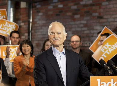Jack Layton NDP Leader