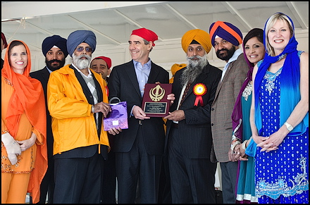 Michael Ignatieff at Khalsa Day 2011