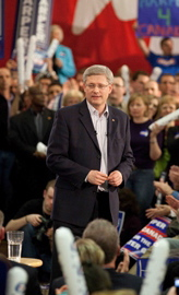 Stephen Harper Canada Election May 2 2011