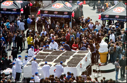 Dairy Queen sets Guinness World Record in Toronto