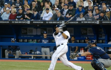 JP Arencibia homers for Ryley James Martin