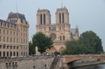 Notre Dame from the Seine River