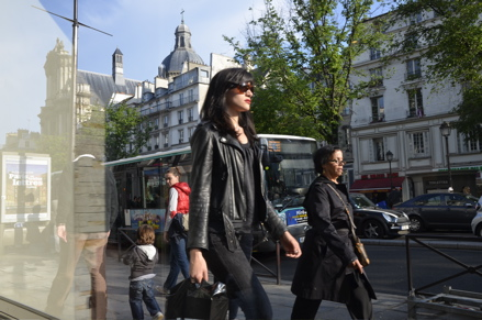 Walking in Paris
