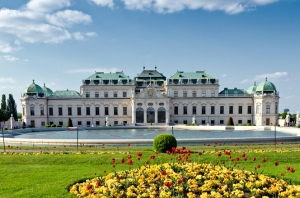 Belvedere Museum in Vienna