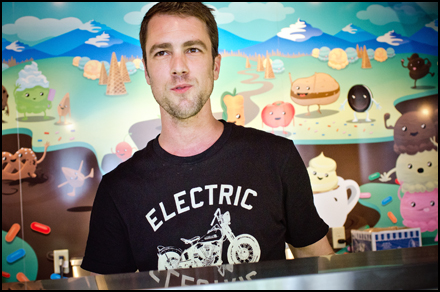 Luc Essiambre brings great ice cream to King West with Cool Hand Luc.