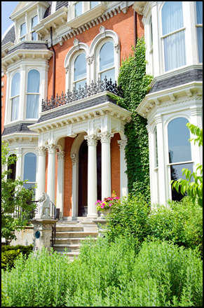 The Mansion on Delaware Avenue in Buffalo.