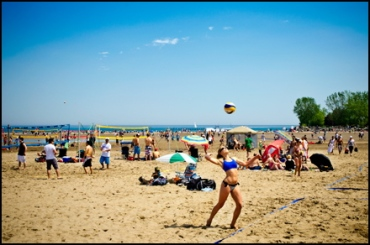 Woodbine Beach Park volleyball