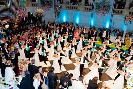 Dancers at Fete Imperiale in Vienna