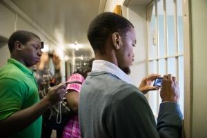Nelson Mandela cell on Robben Island