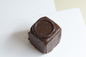 Original Sacher-Torte from Sacher Hotel