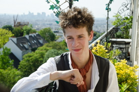 Will Inrig in Montmartre