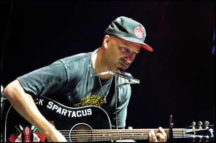 Tom Morello at Ottawa Folk Festival 2011