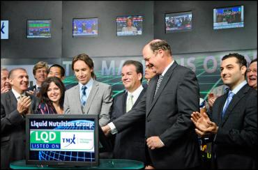 Steve Nash opens Toronto Stock Exchange