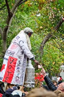 occupy toronto st james park
