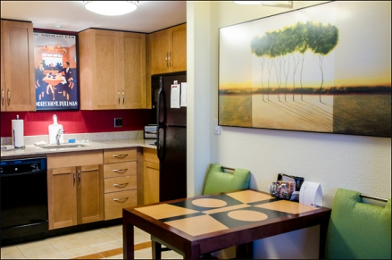 Many hotels, such as the Residence Inn in Kingston, Ontario, now have kitchens in their suites. (Julia Pelish/Vacay.ca)